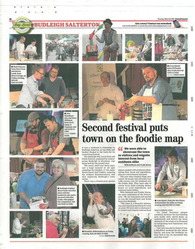 Budleigh Food & Drink Festival 2015