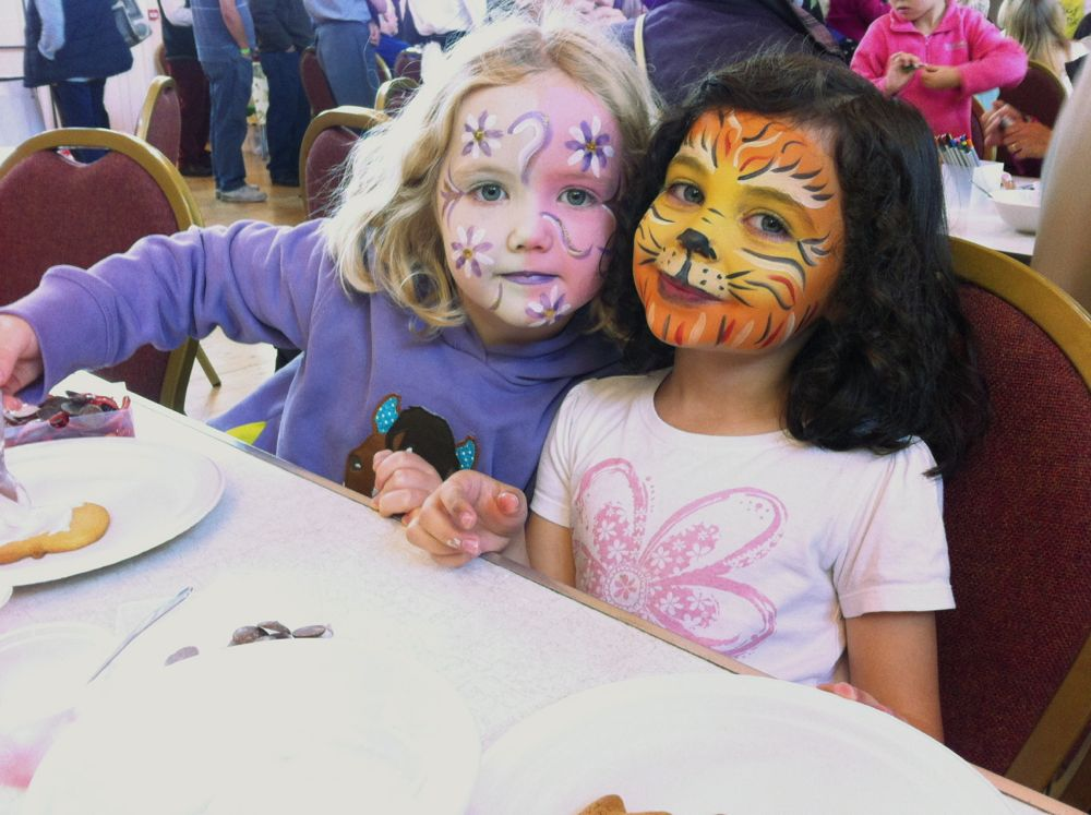 Face Painting Food and Drink Festvial Budleigh Devon